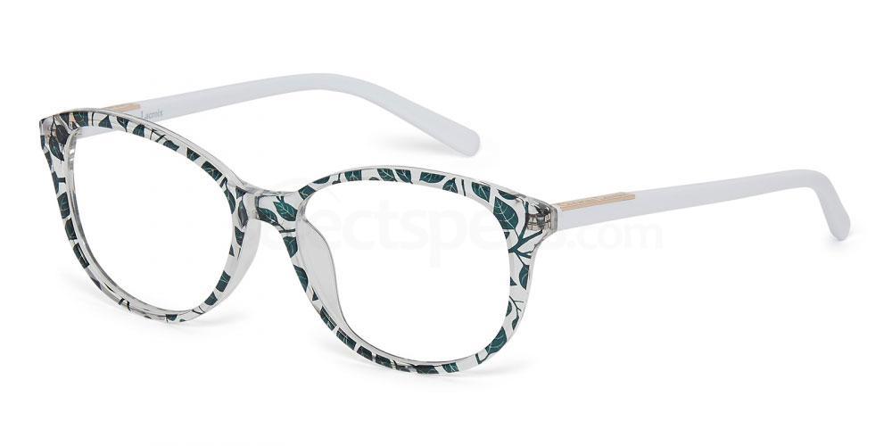 botanical print glasses Christian Lacroix