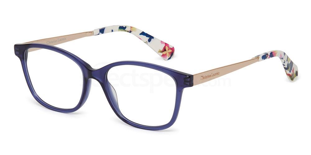 floral glasses Christian Lacroix