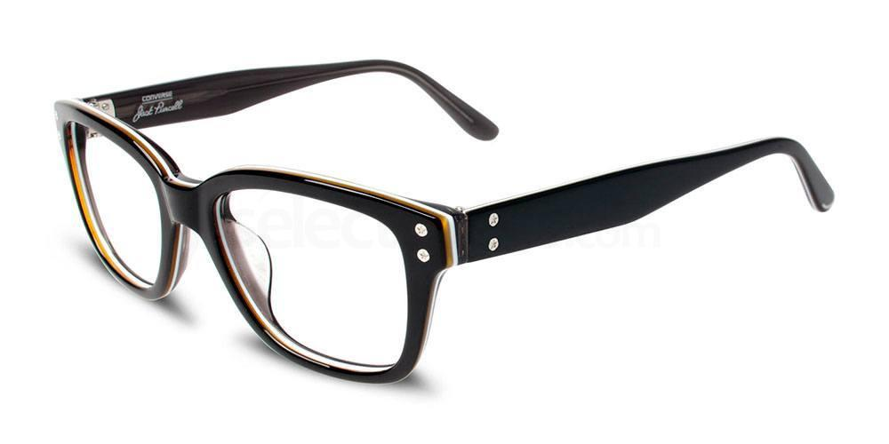 BLACK STRIPE P003 Glasses, Converse Jack Purcell