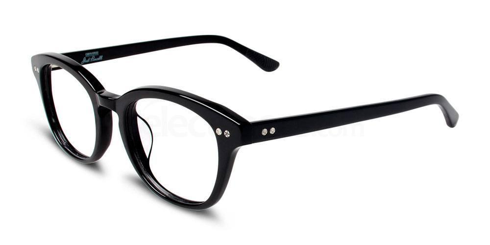 BLACK P007 Glasses, Converse Jack Purcell