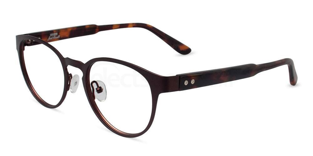 BROWN P009 Glasses, Converse Jack Purcell