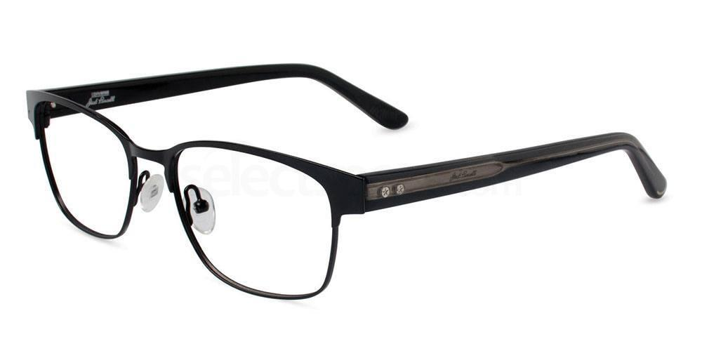 BLACK P010 Glasses, Converse Jack Purcell