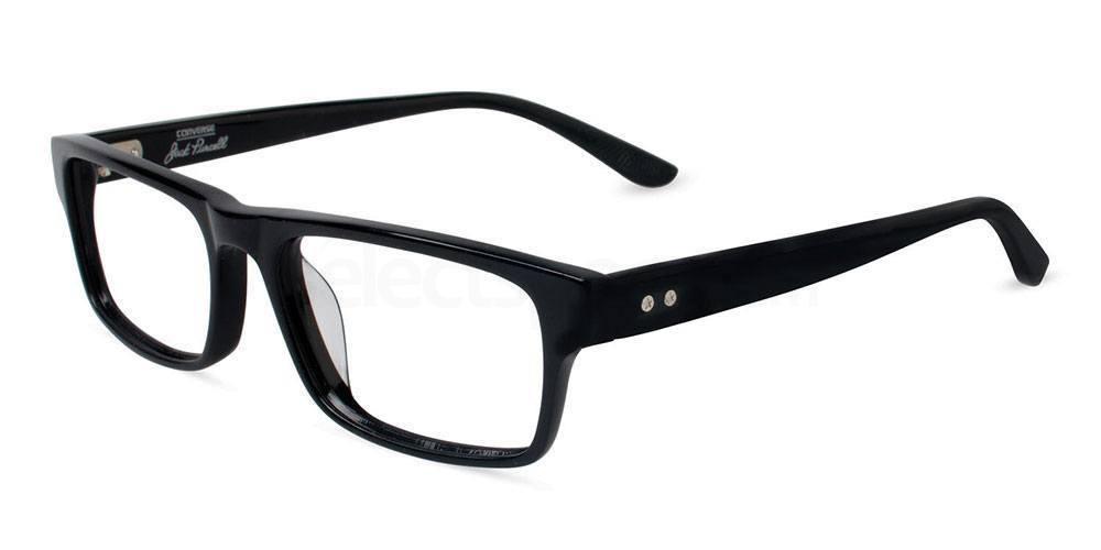 BLACK  UF P011 Glasses, Converse Jack Purcell