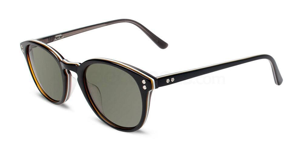 BLACK STRIPE Y002 Sunglasses, Converse Jack Purcell
