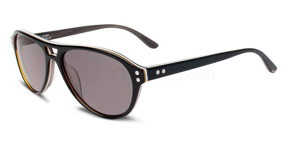 BLACK STRIPE Y006 Sunglasses, Converse Jack Purcell