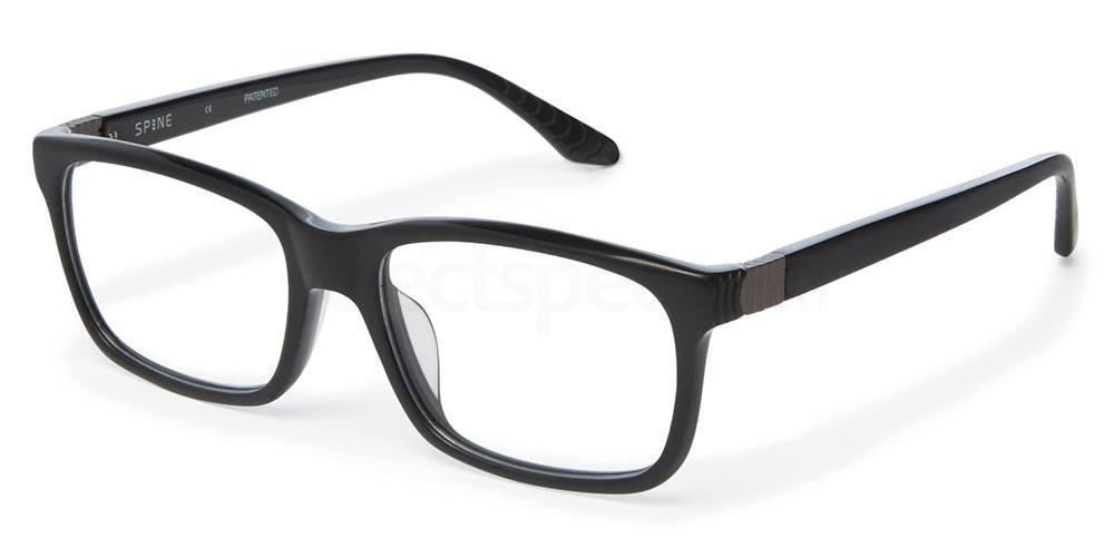 001 SP1004 Glasses, Spine