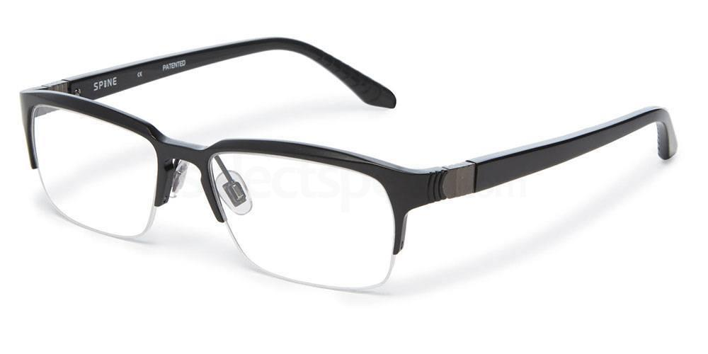 001 SP2003 Glasses, Spine