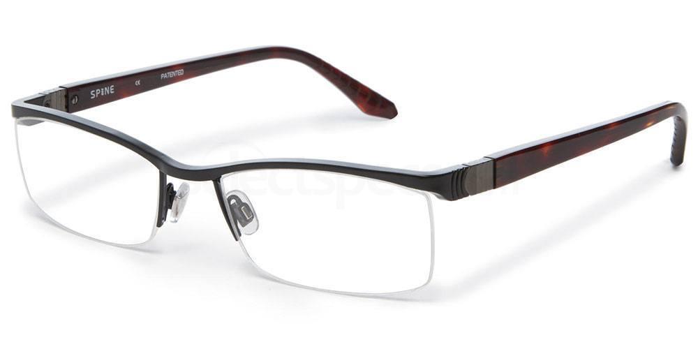 001 SP2007 Glasses, Spine