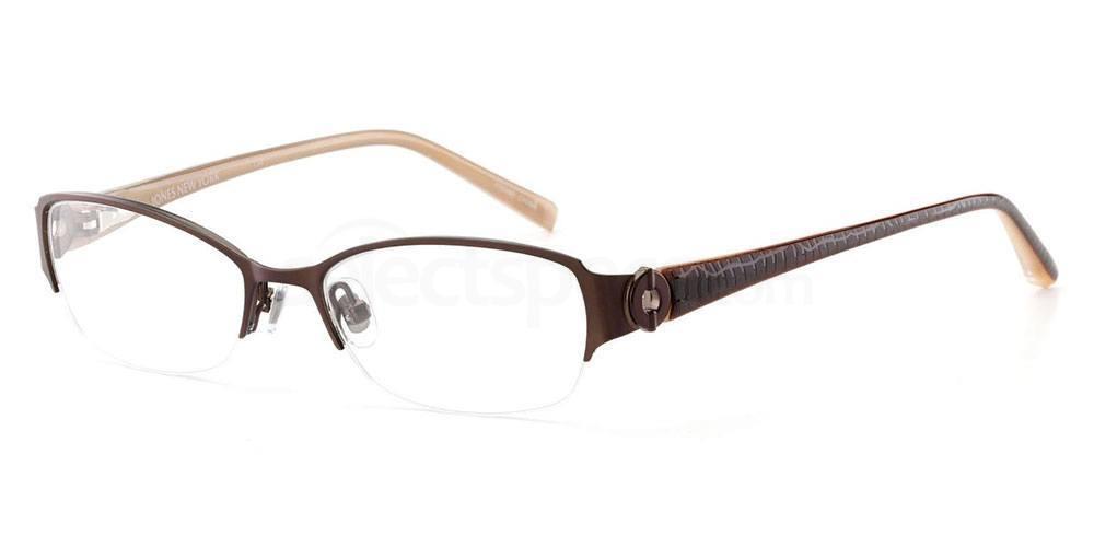CHOCOLATE BROWN J128 Glasses, Jones New York