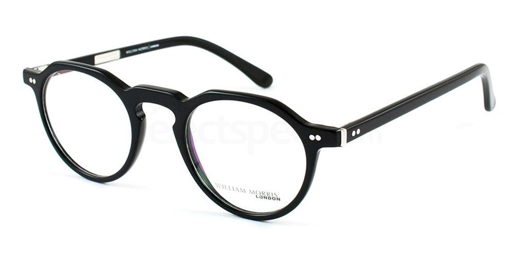 William Morris black glasses specs