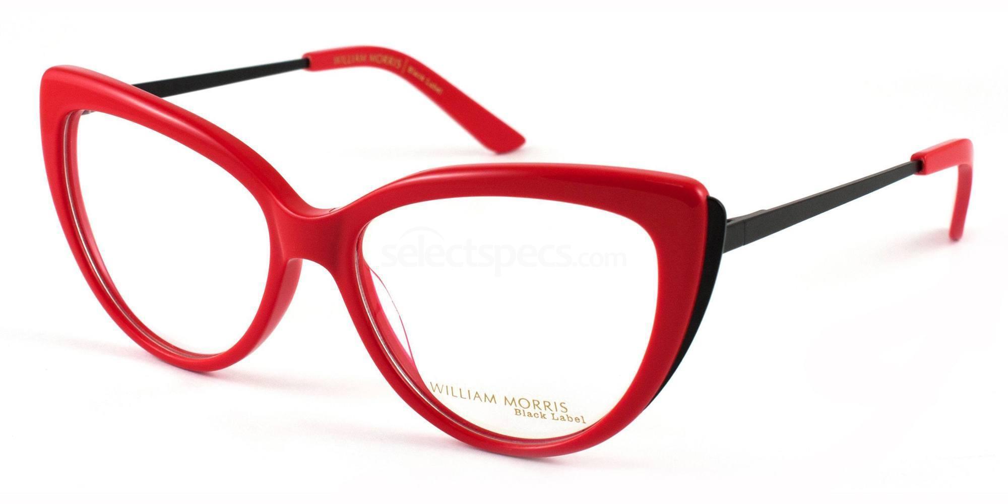 C3 BL34 Glasses, William Morris Black Label