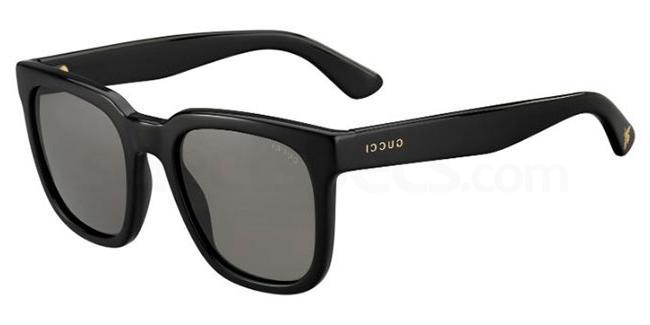 Gucci Black sunglasses dave gahan inspo
