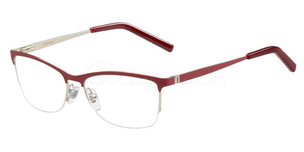 96O YSL 6335 Glasses, Saint Laurent Paris