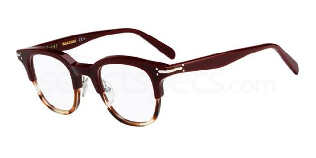 1ef1bcf588 Mixing modern block colour on the top half and a havana   tortoise shell  bottom half