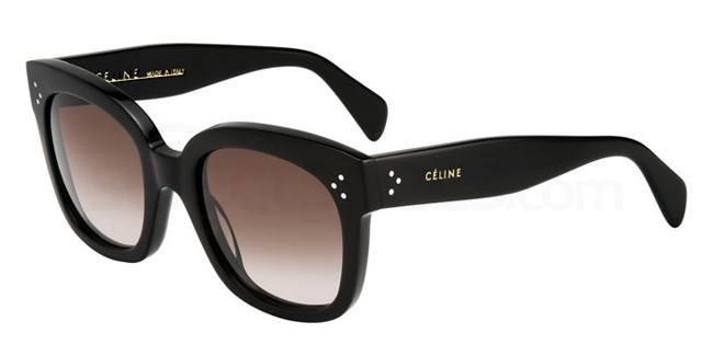 black squared sunglasses Celine
