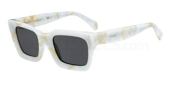 white&black moschino inspiraton sunglasses