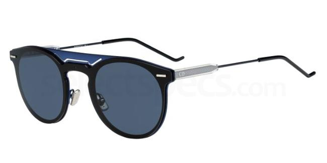 2LA  (A9) DIOR0211S Sunglasses, Dior Homme