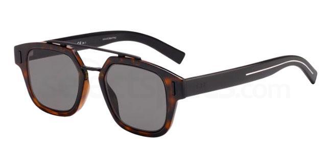 086 (2K) DIORFRACTION1 Sunglasses, Dior Homme