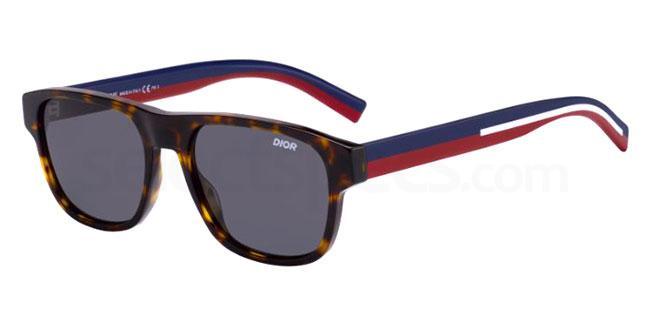 086 (IR) DIORFLAG2 Sunglasses, Dior Homme