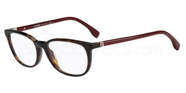 7SK FF 0010 Glasses, Fendi