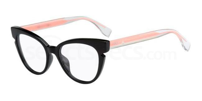 cat eye glasses fendi