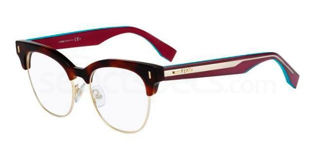 VHB FF 0163 Glasses, Fendi