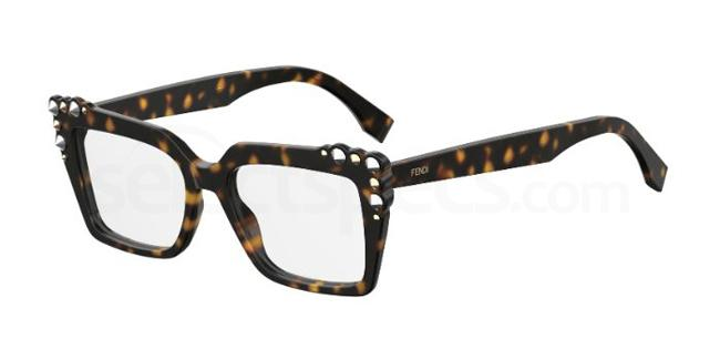 086 FF 0262 Glasses, Fendi