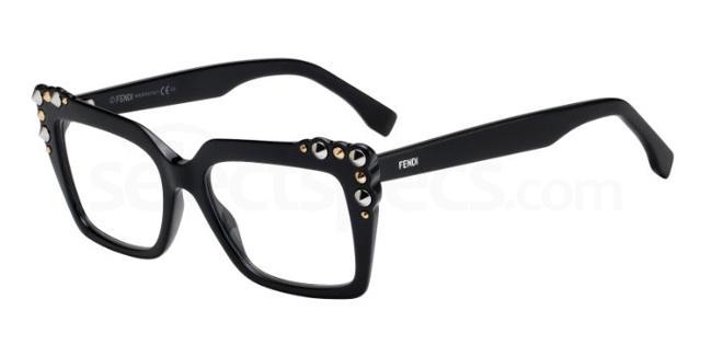 807 FF 0262 Glasses, Fendi