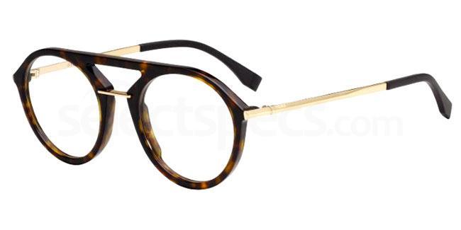 086 FF M0034 Glasses, Fendi