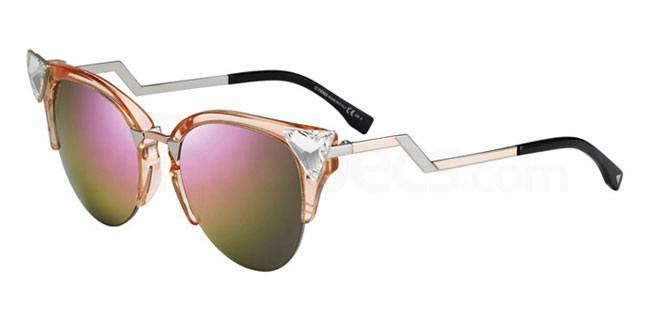 9F6 (VQ) FF 0041/S Sunglasses, Fendi