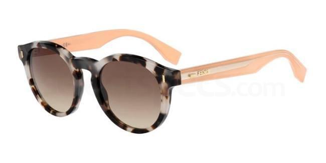 HJU  (JD FF 0085/S Sunglasses, Fendi