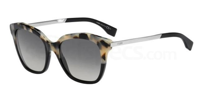CU1  (DX) FF 0089/S Sunglasses, Fendi
