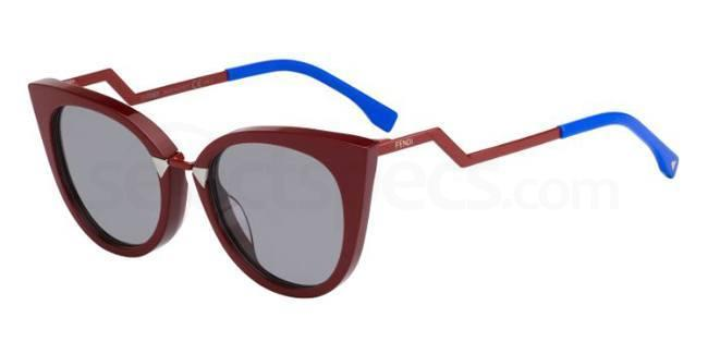 Red cat-eye Fendi