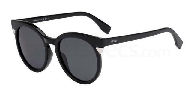 D28 (BN) FF 0124/S Sunglasses, Fendi