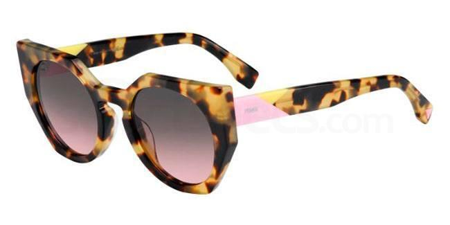 fendi animal print sunglasses
