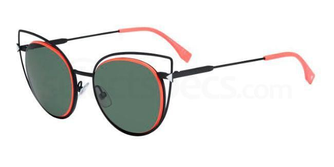 003  (DN) FF 0176/S Sunglasses, Fendi