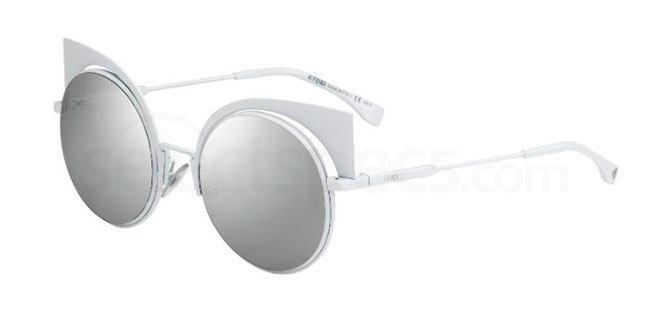 silver fendi sunglasses new ss16