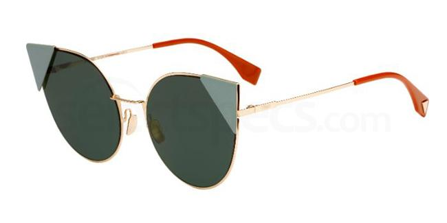 Fendi colorful sunglasses
