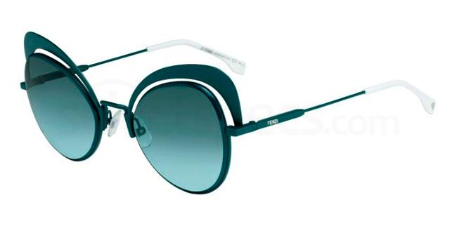 1ED  (EQ) FF 0247/S Sunglasses, Fendi