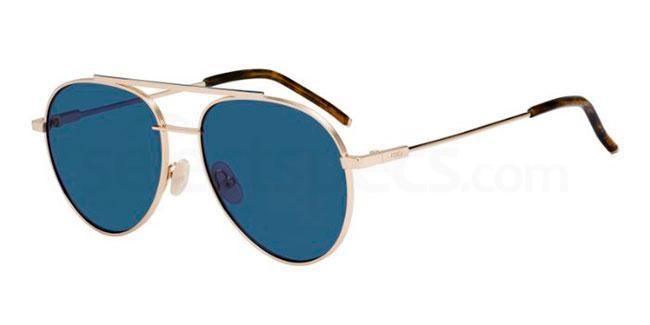 000  (KU) FF 0222/S Sunglasses, Fendi