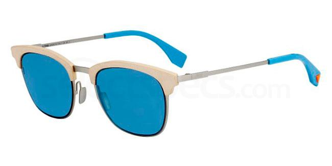 Blue sunglasses Fendi