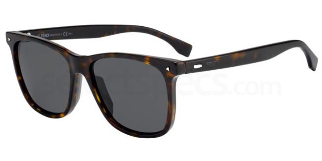 086  (IR) FF M0002/S Sunglasses, Fendi