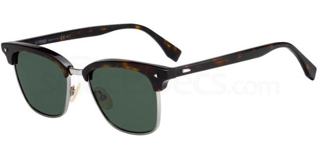 086  (QT) FF M0003/S Sunglasses, Fendi