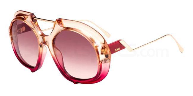 C48 (3X) FF 0316/S Sunglasses, Fendi