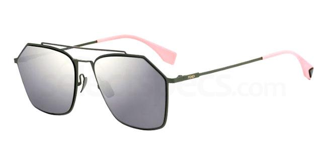 1ED (UE) FF M0022/S Sunglasses, Fendi