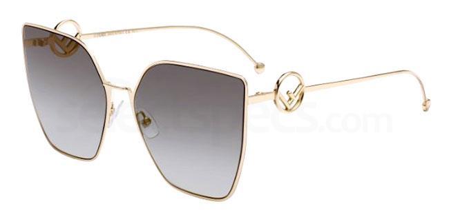 FT3 (FQ) FF 0323/S Sunglasses, Fendi