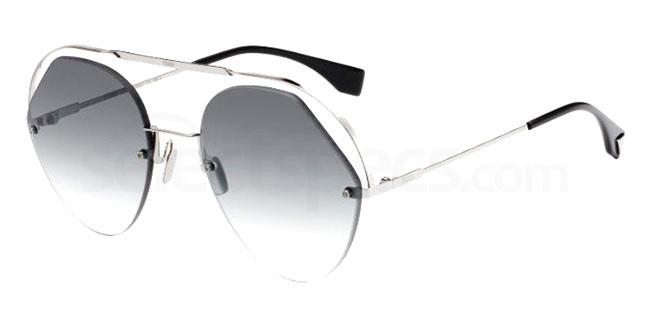 KB7 (9O) FF 0326/S Sunglasses, Fendi