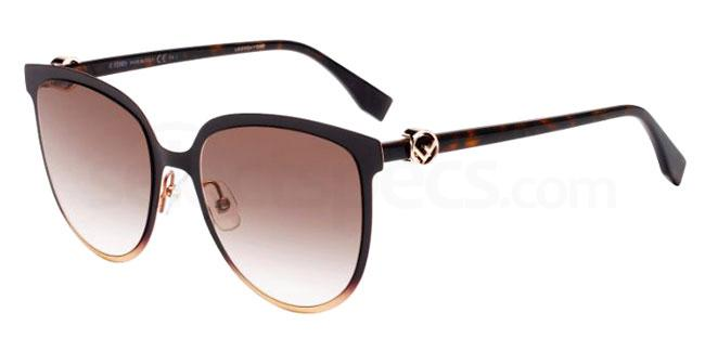 09Q (HA) FF 0328/G/S Sunglasses, Fendi
