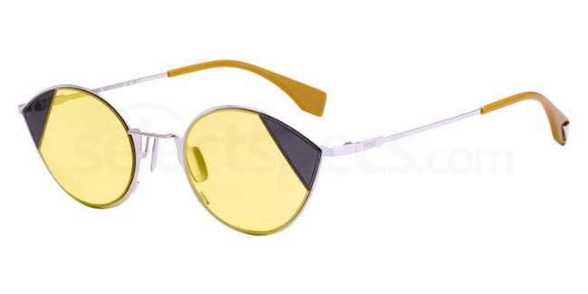 split lens sunglasses Fendi FF 0342/S