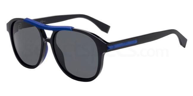 807 (IR) FF M0026/G/S Sunglasses, Fendi